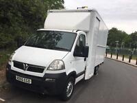 Vauxhall movano Luton van for sale