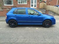 Low Mileage Skoda fabia vrs se in great condition