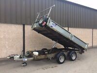 USED IFOR WILLIAMS TT3621 TIPPING TRAILER 2014