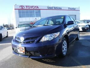 2011 Toyota Corolla CE TOYOTA CERTIFIED PRE OWNED