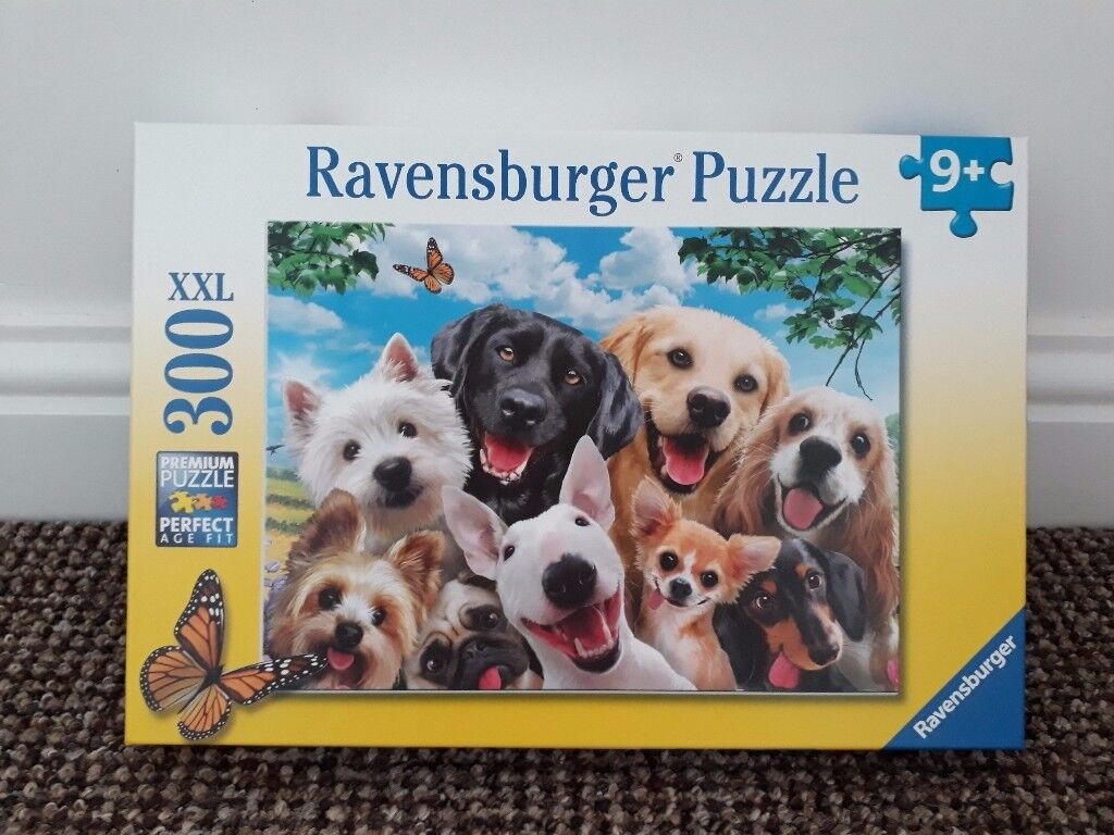 Animated Dog Puzzle NEW 300 pieces