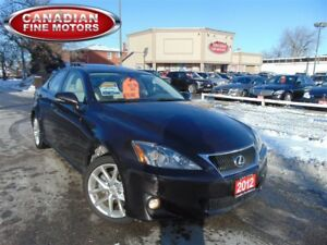 2012 Lexus IS 250 AWD-PREM PKG-LEATHER ROOF