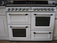 SMEG Dual Fuel Range Cooker TR4110P1