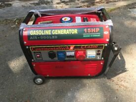 Petrol Generator - 15hp - 1 or 3 phase (up to 6kw)