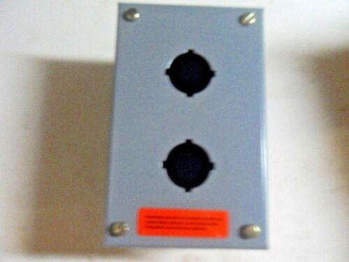 (l19) 1 Square D 9001-kyaf2 2 Unit Enclosure
