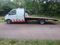 1991 Ford Transit 2.5 Crew cab recovery truck – Extensive renovation, 1yr MOT, P/Ex considered