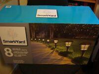 SmartYard ALPAN Solar LED Large Pathway Lights (new, boxed)