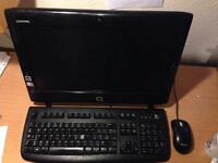 All in one compaq pc in good working condition