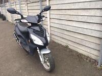 50cc 2 stroke with malossi belt, clutch, pm exhaust moped Vespa Piaggio zip honda