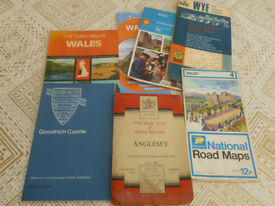 Wales and Wye Valley maps and Goodrich Guide
