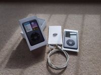Apple iPod Classic 6th Generation Black (160GB) - GREAT CONDITION and original packaging