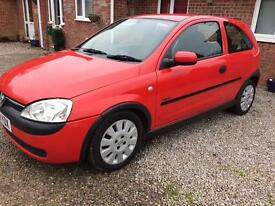 Vauxhall Corsa active new mot