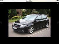 Black VW Golf GTI MkV DSG (Auto) 5dr