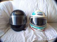 motorcycle helmets & gloves
