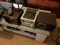 Panasonic mini CD system with MASH