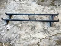 HEAVY DUTY VAN ROOF BARS VERY STRONG AND SOLID HEAVY DUTY BARS £20 LOOK