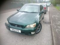 1999 LEXUS IS200 SPORT...LONG MOT..6 SPEED
