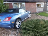 Stunning Crossfire convertible for sale, well loved and maintained