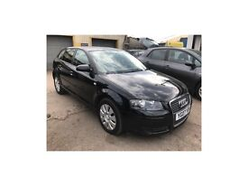 2007 Audi A3 2.0 TDI Sportback 5dr WARRANTY+BREAKDOWN COVER, WELL LOOKED AFTER CAR.