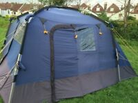Kyham Motordome Classic, used but in good condition, complete with inner sleeping tent