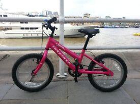 Ridgeback Melody Crimson kids bike 16 inch