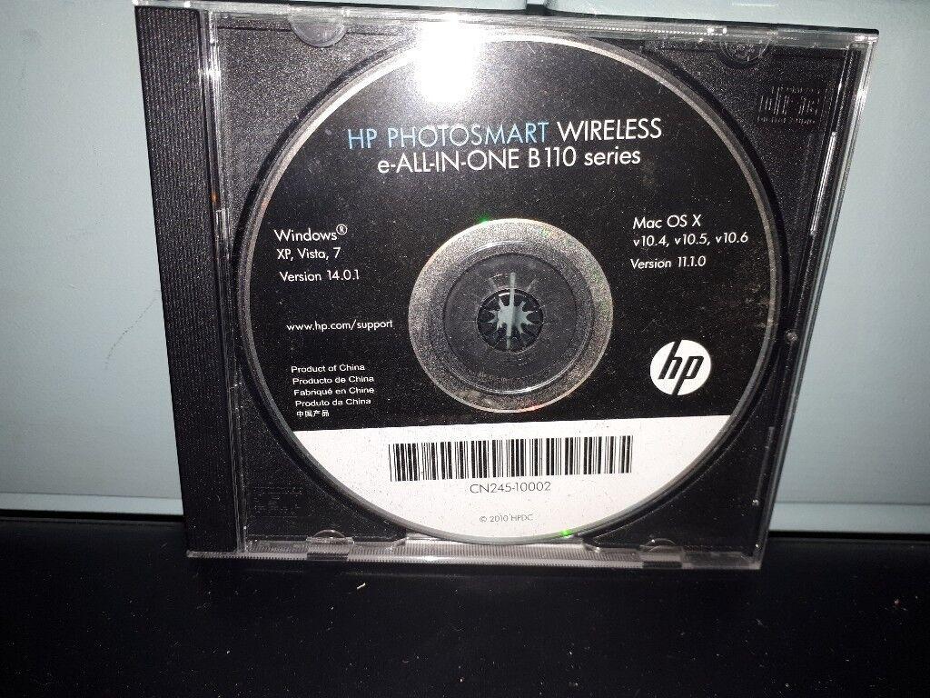 Hp (hewlett packard) photosmart b110a (wireless e-all-in-one.