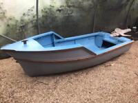 12ft dinghy tender boat + road trailer