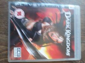 untold legends dark kingdom ps3