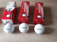 New unused Golf balls -7 boxes of 3.