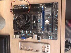 AMD A8-6600K Quad Core Processor -Black Edition MSI FM2-A55M-E33 AMD FM2 Micro ATX Motherboard