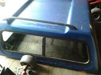 Canopy to fit Mazda b2500 or Ford ranger double cab pick up 2001 and liner.