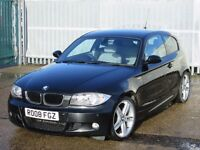 2008 (08 reg), BMW 1 Series 2.0 120d M Sport 3dr
