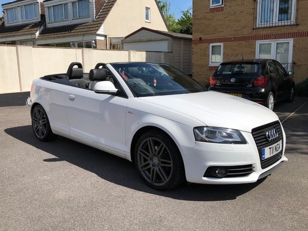 Audi A3 Cabriolet 1 8 Tfsi Black Edition 2dr Ibis White In Wells Road Bristol Gumtree