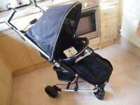 Petite Star Zia 4X compact folding pushchair stroller buggy + accessories used clean