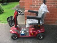 Invacare Leo 4mph Mobility Scooter and accessories. Excellent condition. Buyer collects.