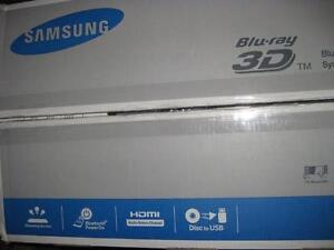 Samsung 500 Watt 5.1 Channel 3D Blu-ray Player with Ethernet. Bluetooth. Home Theatre System. AUX. Audio. HDMI. NEW