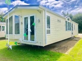 Caravan mini lodge for sale at Tattershall Lakes Country Park Lincolnshire near Skegness beach