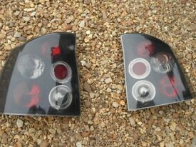 VAUXHALL VECTRA C SERIES TINTED REAR LIGHTS