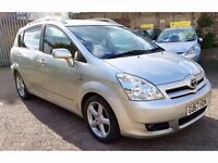 Toyota Corolla Verso 2.2 D-4D T180 5dr£3,595 one owner