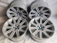 Original 19'' BMW Staggered Styling 95 alloy wheels E38 E39 E60 E46 E90