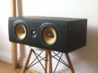 Bowers and Wilkins B&W LCR60 S3 Centre Speaker in Black Center 604 603 605 £150