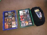 250 Original VHS video tapes including many box sets.