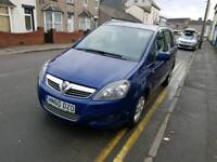 60 PLATE VAUXHALL ZAFIRA. 7 SEATER. 1.7 ECO FLEX TURBO DIESEL. GREAT FAMILY CAR. PX WELCOME