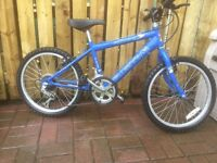 CHILD'S SIZE MOUNTAIN BIKE FOR SALE, MUST BE SEEN.