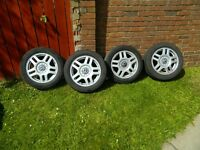 Golf alloy wheels with tyres 16 inch 5x100 Fit VW SEAT AUDI etc
