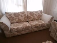 NEEDING A NEW HOME 4 &3 SEATER SOFA'S