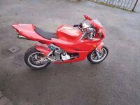 midi moto 49cc water cooled and x2 midi moto (spares or repair)