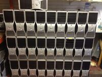 DELL TOWER MIX MODEL @ SPEC ALL TESTED TO BIOS @£12 EACH C100 UNIT IN STOCK