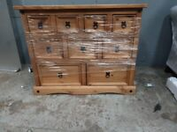 New Corona 9-Drawer Merchant Chest / Sideboard (Was £350) - Fully assembled