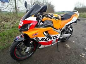 2002 Honda CBR 600 f4i Motorbike With Less Than 12000 Genuine Miles